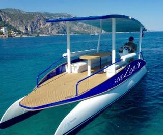 Seazen bateau solaire