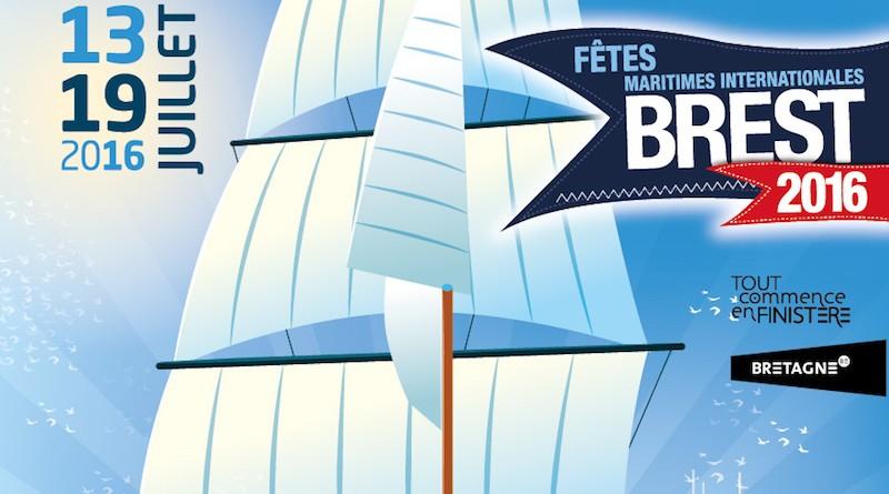 Affiche Fêtes de Brest 2016