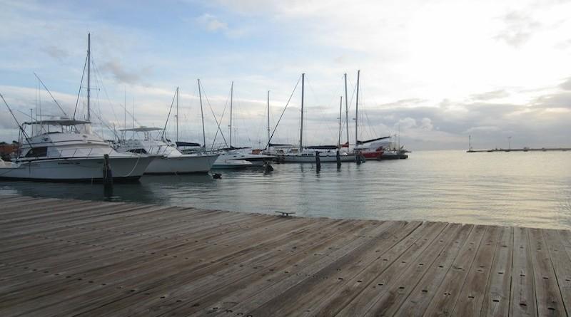 Bateaux à Aruba, aux Antilles