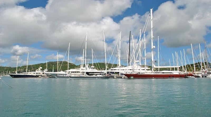 Bateaux aux Antilles