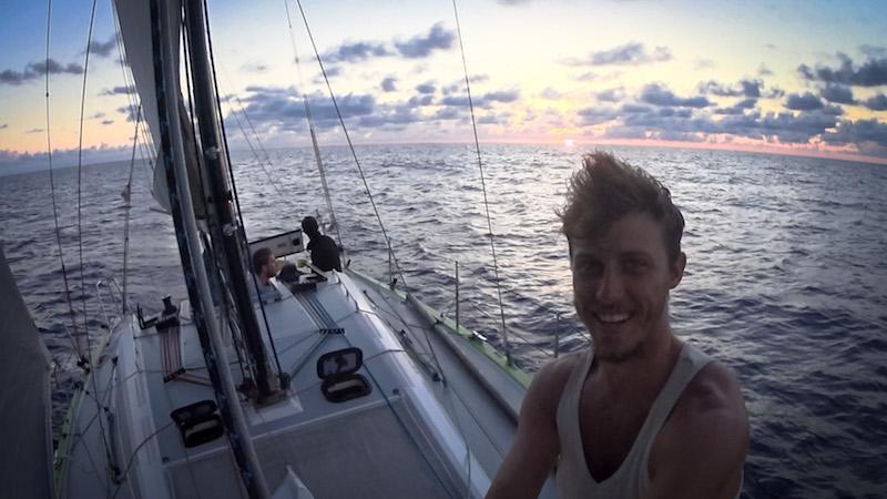 Photographie du Capitaine Rémi sur le RM1080, vu de face