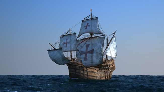 Christophe Colomb et la Santa Maria