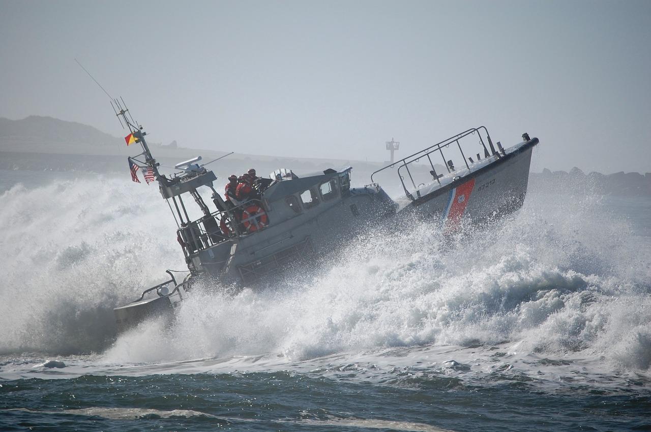 Collision en mer