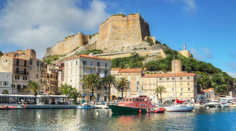 The Port de Plaisance of Bonifacio, Corsica, France