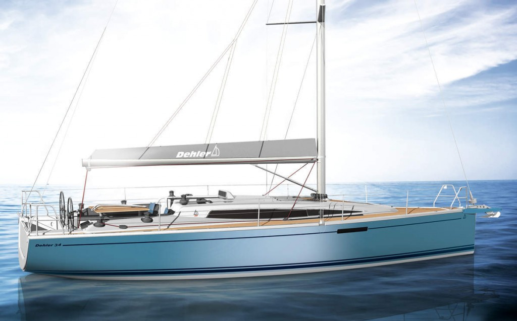 Preview 3D du Dehler 34 de côté