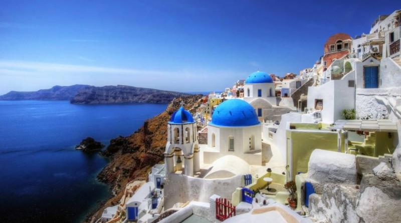 Photographie d'un panorma de la côte Grecque