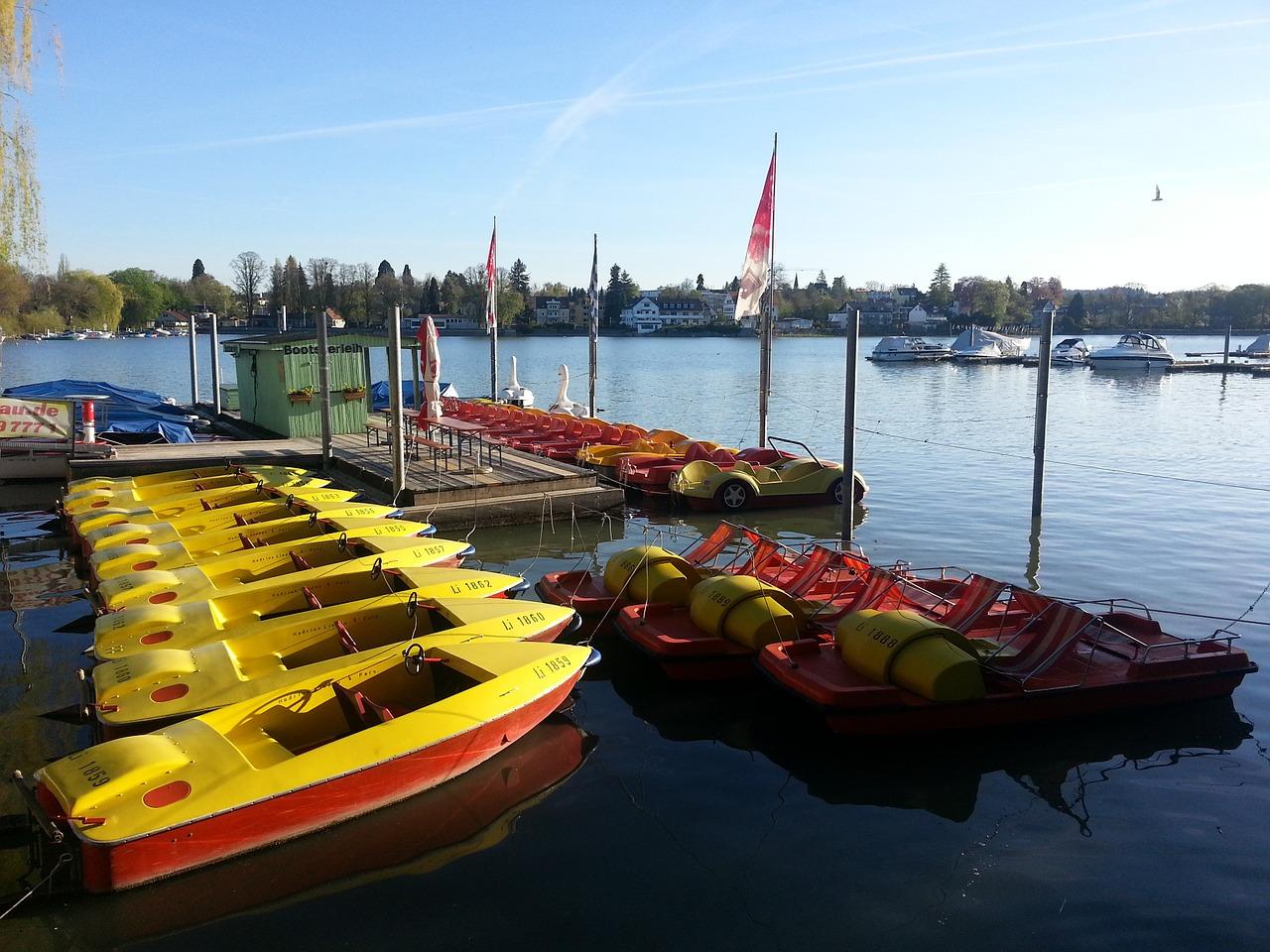 Location de bateaux en été