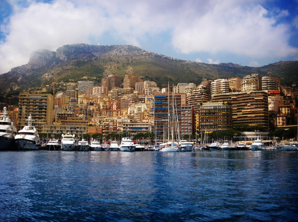Photographie du port de Monaco