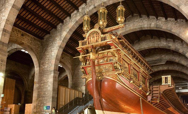 Visite le mus e maritime de barcelone le blog filovent - Salon nautique de barcelone ...