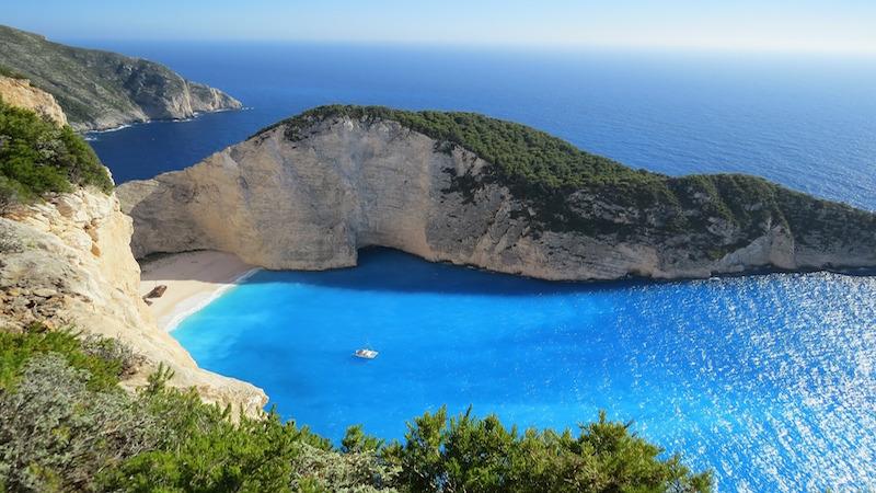 Navigation au large de la Grèce