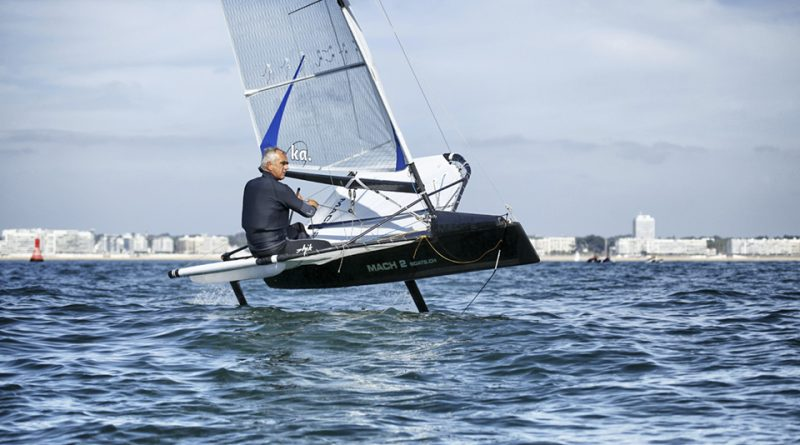 The legendary French multihull specialists, Loick Peyron at home.