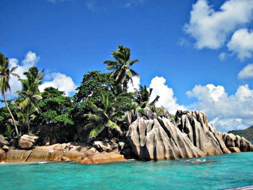 Paysages des Seychelles