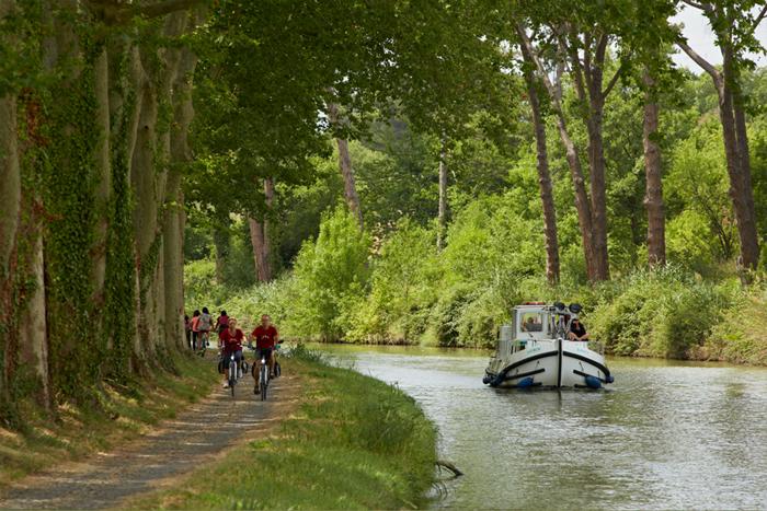 Pénichette-Canal-du-Midi-Cycling