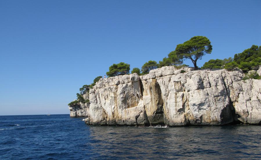 Photographie de calanques près de Marseille