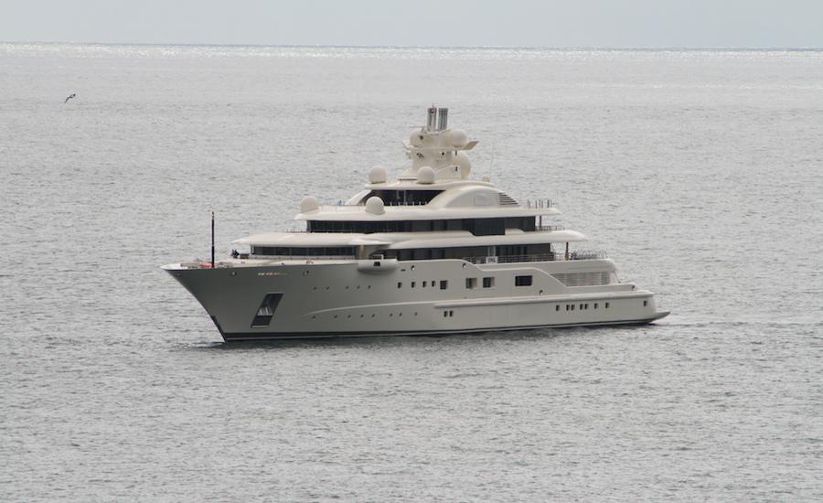 Photographie du yacht Dilbar