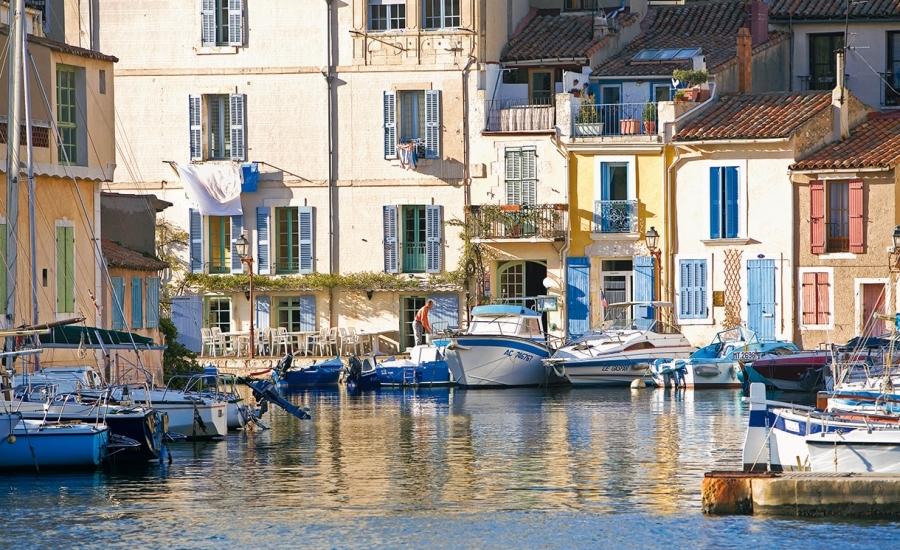 Photographie du miroir aux oiseaux, à Martigues
