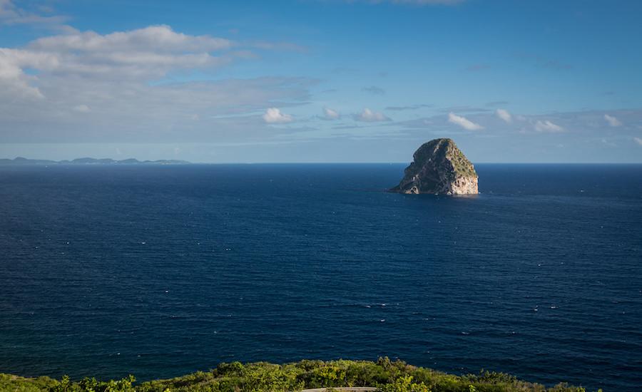 Photographie d'un paysage en Martinique