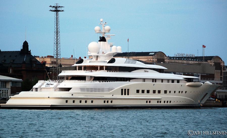 Photographie du yacht Pelorus