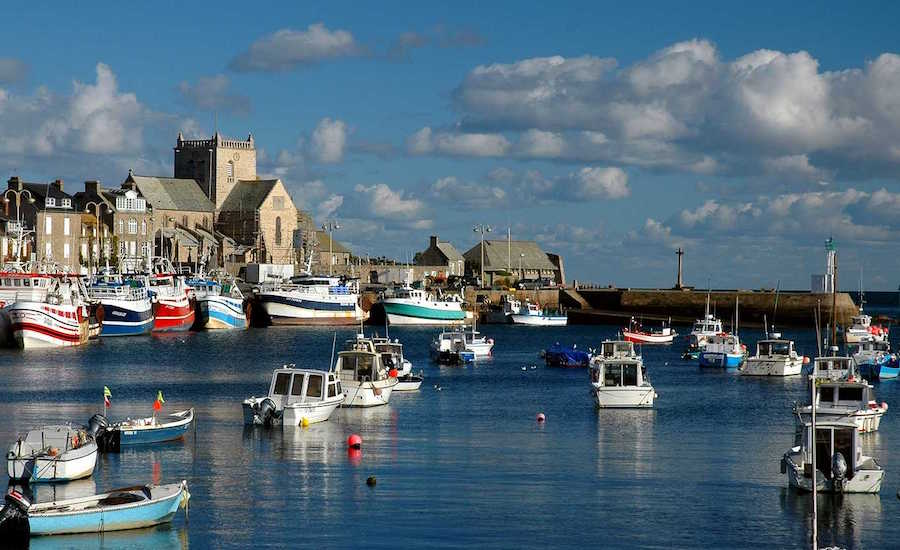Photographie du Port de Barfleur