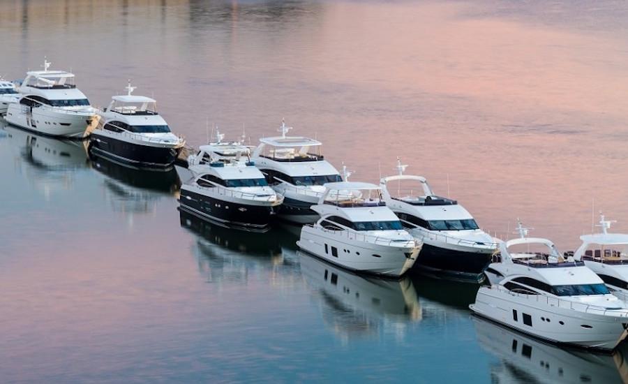 Photographie de princess yacht à quai