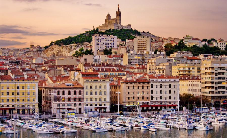 Photographie du Vieux Port de Marseille