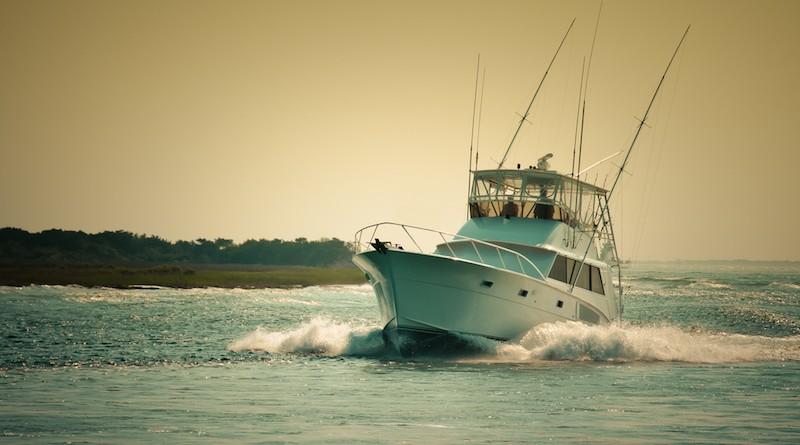 Photographie d'un bateau à moteur