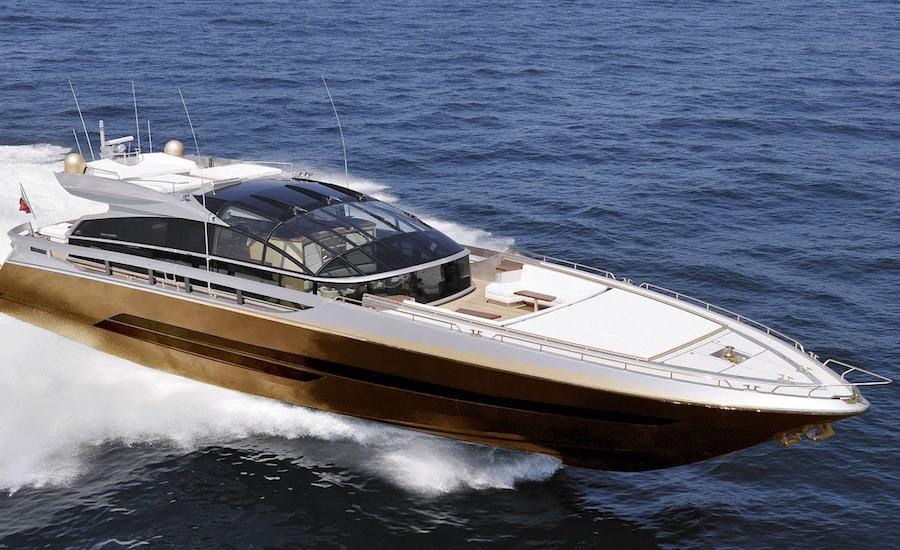 Photographie du yacht history supreme