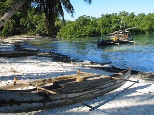 Pirogues de pêcheurs malgaches