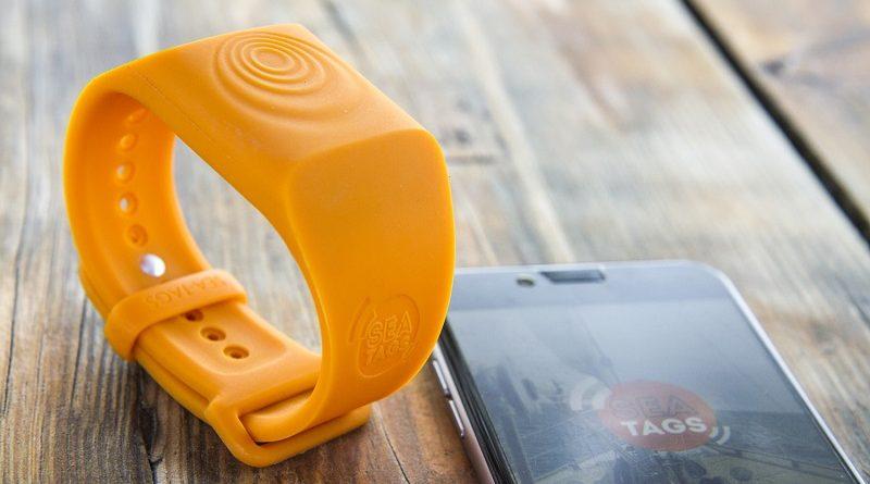 Bracelet et Application SEA-TAGS