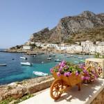 Trapani en Sicile et les îles Egades
