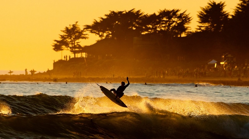 Surfer en Italie