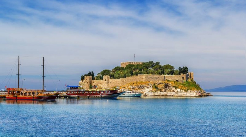 beautiful sunny days in Kusadasi Turkey