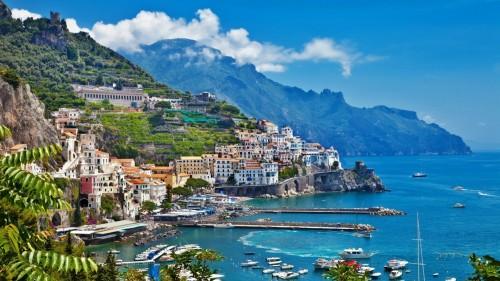 la côte d'Amalfi