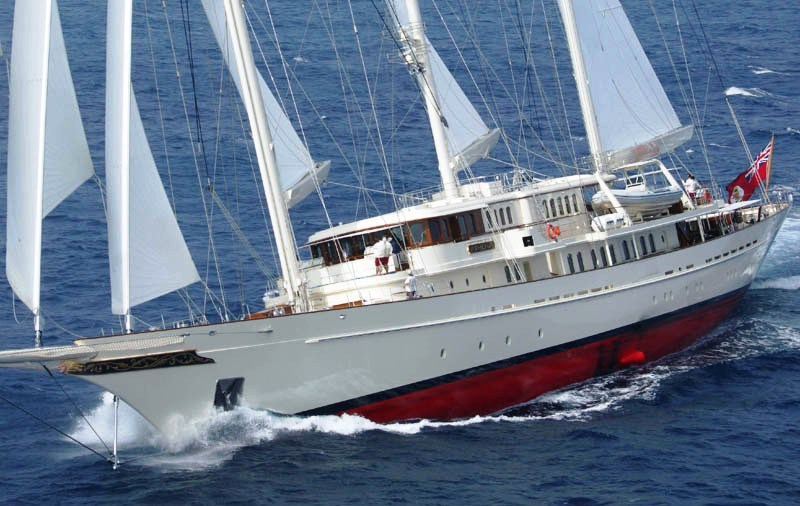Photographie du yacht Athena