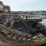 Landévennec : le cimetière de bateaux fantômes