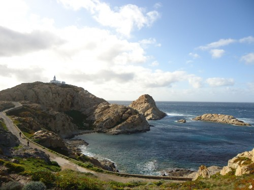 Crique de Calvi en Haute-Corse, Corse