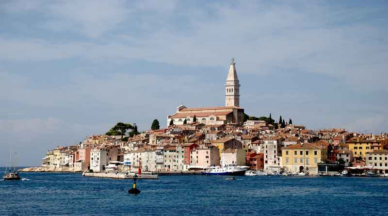 Photo de la Croatie depuis la mer