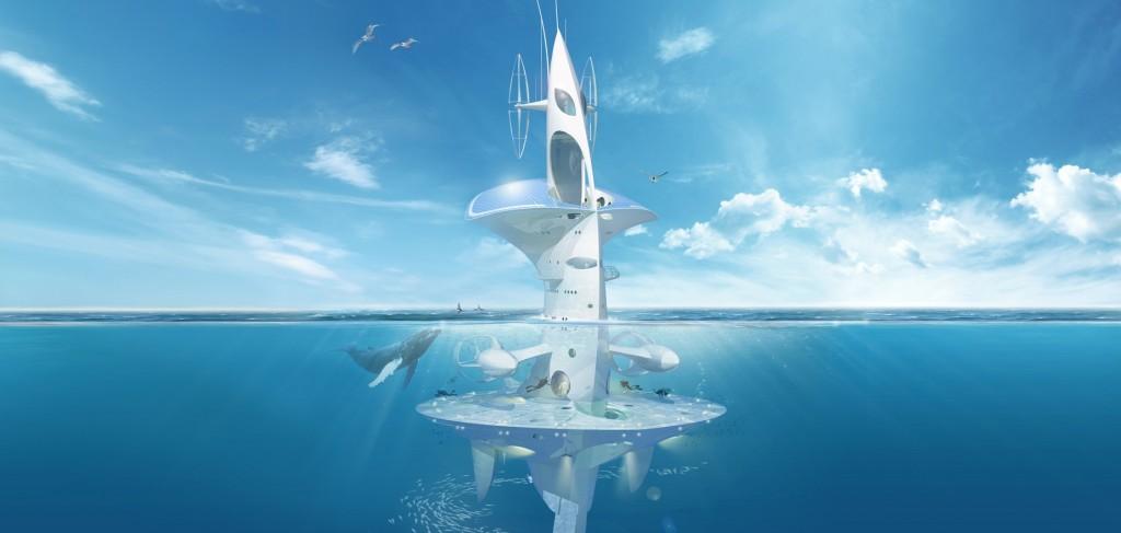 Dessin du projet de bateau Sea Oorbiter