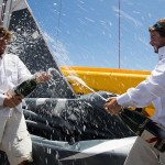 Les skippers de Safran-Guy Cotten remportent la Transat AG2R — La Mondiale !