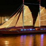 Fêter Noël sur un bateau