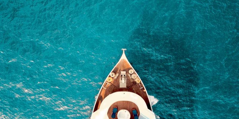 bateau mer transparente