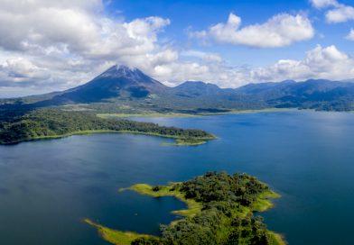Vue panoramique du Costa Rica