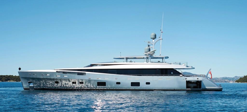 Photographie du yacht Feadship Como